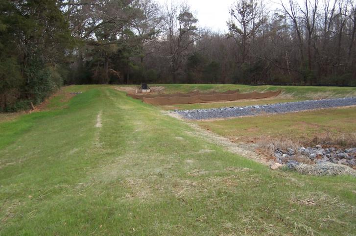 Comer Distributing Stormwater Management Basin - Rock Hill, SC