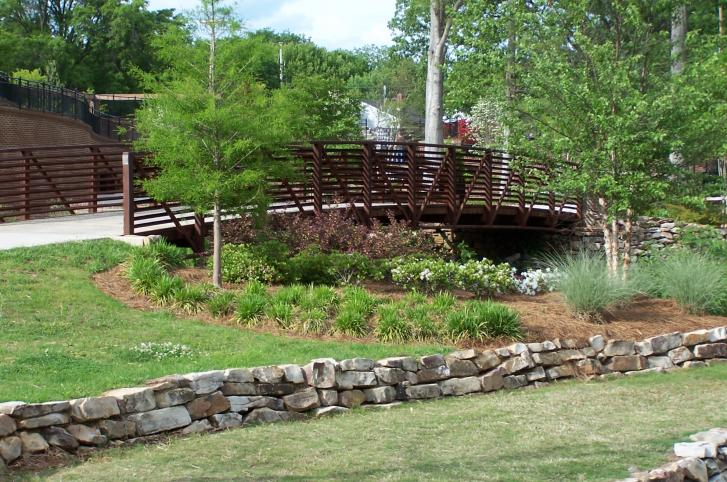 Glencairn Gardens Pedestrian Bridge - Rock Hill, SC
