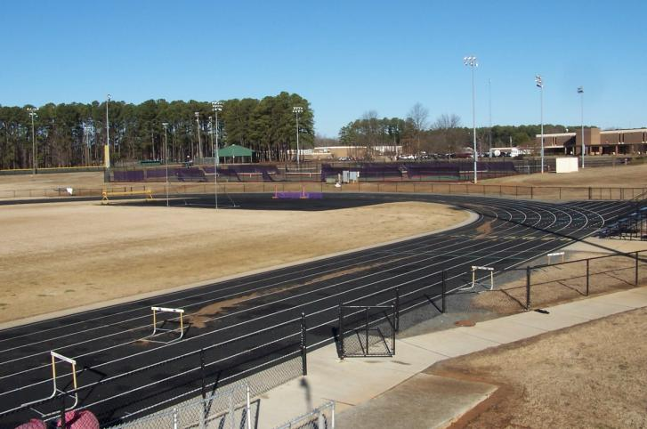 Northwestern High School Track Rehabilitiation -  Rock Hill, SC